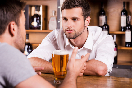 Bartender actively listen to your customers