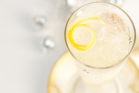 French 75 Champaign Cocktail