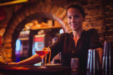 traditional job versus bartending