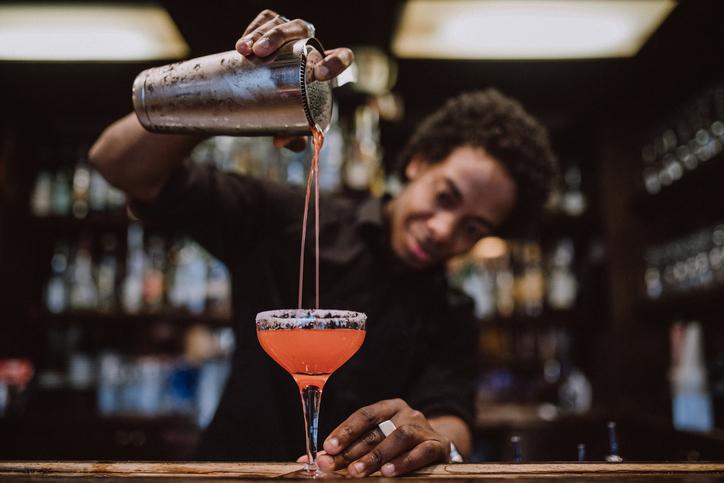 Young-barista-making