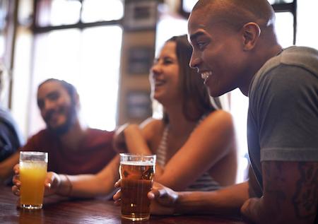 impress friends bar
