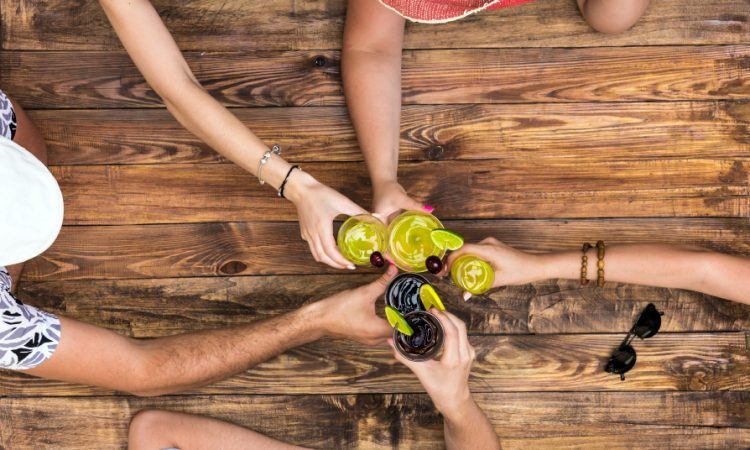 Why are Social Drinkers So Much Fun?